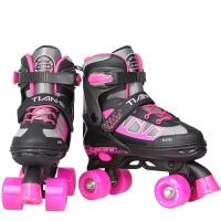 初学者男女 溜冰鞋成年旱冰鞋滑冰儿童全套装双排轮滑鞋