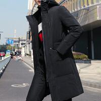 Lee Cooper冬季新款外套潮流韩版长款羽绒棉服保暖棉袄羽绒服男