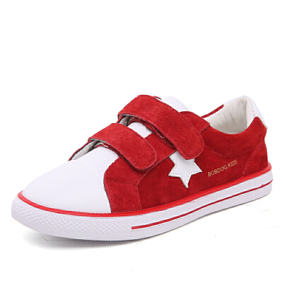 16.5cm~23.5cm巴布豆童鞋 男童鞋2017春秋新款女童鞋休闲鞋儿童运动鞋学生板鞋