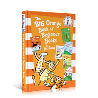 进口英文原版 The Big Orange Book of Beginner Books Dr. Seuss 5故事合
