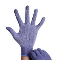 触屏手套男士秋春季防滑纯棉保暖薄款透气开车骑行户外手套女