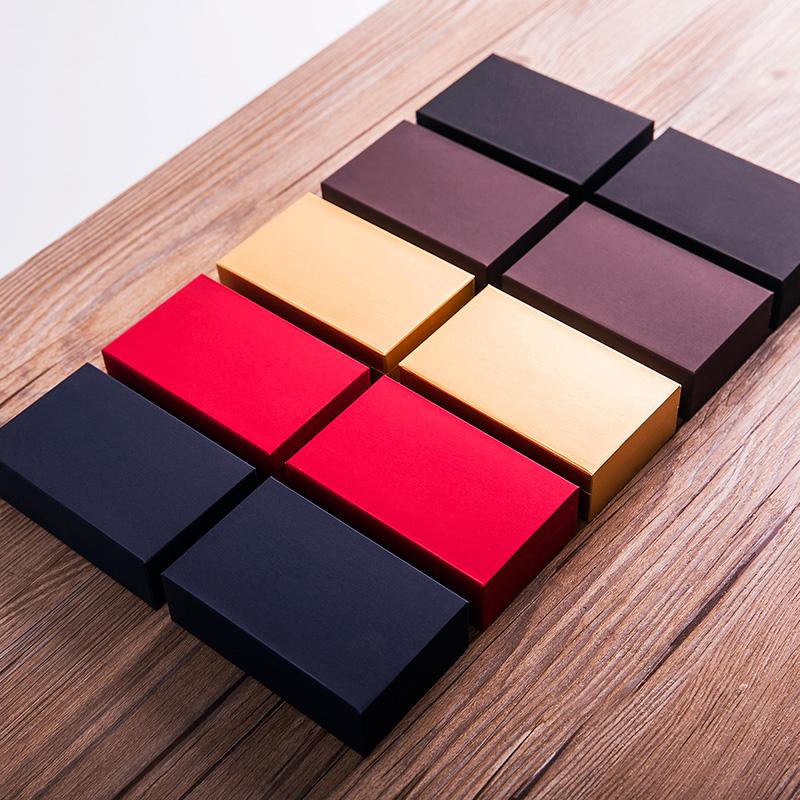 茶叶包装盒空礼盒红茶绿茶大红袍岩茶小包装纸盒通用