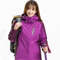 冲锋衣 男女士时尚防风防水速干冲锋衣2020秋冬新款男女式户外运动保暖外套