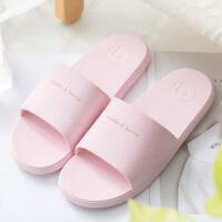 拖鞋女夏室内浴室洗澡防滑男夏季家用韩版居家软底情侣家居凉拖鞋