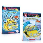 英文原版绘本Scholastic Reader L2 The Magic School Bus神奇校车分级读物2册魔法