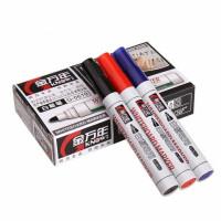 得力6817白板笔 水性 可擦白板笔 2mm 展示板笔 白板书写笔