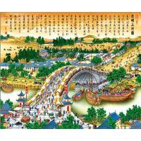 1000片木质拼图500儿童玩具客厅风景画清明上河图