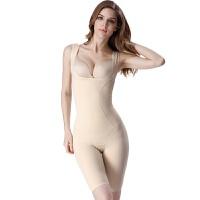 薄款后脱式塑身内衣连体美体衣产后燃脂减肚子收腹束腰束身衣
