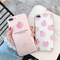 iPhone6手机壳苹果7透明壳6splus夏季小清新8p软套防摔x六女款潮