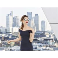 BOLON暴龙2018新款女士太阳镜明星同款时尚墨镜女个性潮流眼镜BL6052