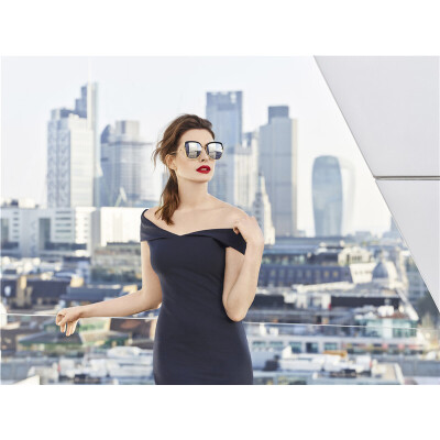 BOLON暴龙2018新款女士太阳镜明星同款时尚墨镜女个性潮流眼镜BL6052匠心护目 品质暴龙