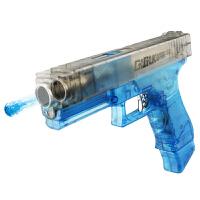 宜佳达 电动连发水弹枪格洛克 儿童可发射水晶弹枪 战雷格洛克透明版YJD611