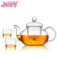 茶具整套装玻璃茶壶带盖过滤泡茶壶花茶壶水壶