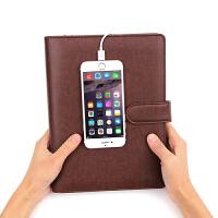 法拉蒙 电源笔记本充电宝记事本企业广告商务礼品文具本子套装