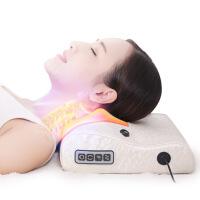 胫椎按摩器家用腰疼腰部颈椎按摩器枕头靠垫电动多功能颈椎肩部胫椎揉捏