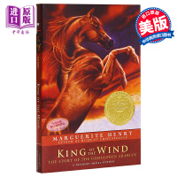 【中商原版】King of the Wind 纽伯瑞:风之王 纽伯瑞金奖 儿童经典文学故事 Simon出版 平装 英文原