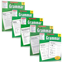 Scholastic success with grammar grade 12 3 4 5册 级 英文原版 学乐成功