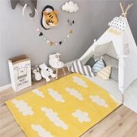 云朵毛绒地垫装饰儿童游戏毯爬爬垫客厅卧室沙发垫