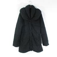 O06007精品秋冬新款简约单排按扣拉链显瘦保暖百搭女纯色