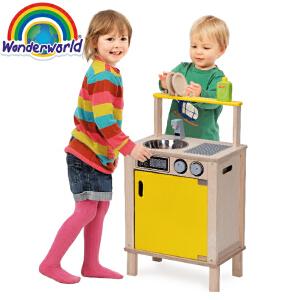 [当当自营]泰国Wonderworld 洗碗台 过家家角色扮演益智玩具 大件玩具 幼儿园玩具
