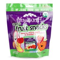 美国Yummy Earth牙米滋天然水果VC软糖果 橡皮糖QQ糖 零食