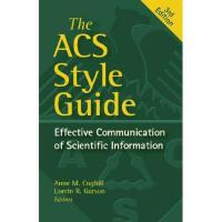 【预订】The ACS Style Guide: Effective Communication of
