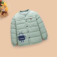 冬季冬装儿童羽绒小孩棉袄男童女童宝宝内胆保暖棉衣外套