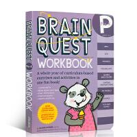 【全店300减100】英文原版 Brain Quest Workbook Pre-K大脑任务低幼版英文原版 美国学前小学