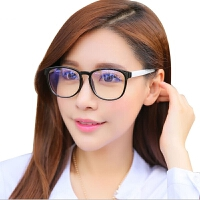 防辐射眼镜大框蓝光个性潮电脑平镜男女平面平光镜护目镜