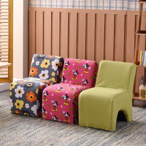 门扉 椅子 儿童卡通幼儿园早教凳小沙发可拆洗休闲家具小学生休闲沙发椅宝宝座椅