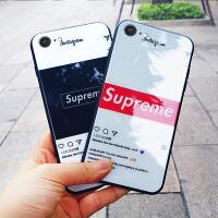 苹果6手机壳iPhone6套7plus玻璃壳男女硅胶全包8plus