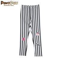 Pawinpaw宝英宝卡通小熊童装秋季款女童运动休闲长裤儿童裤子