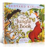 英文原版 The Jungle Book 森林王子 奇幻森林 迪士尼电影 原著故事