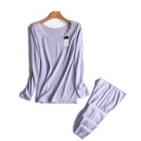 2018新款日本保暖自发热仿羊绒手感保暖内衣套装护膝护腰护肩秋衣秋裤套装