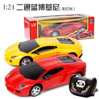 哈比比玩具 2936二通遥控车1:24混装* 儿童遥控汽车玩具模型