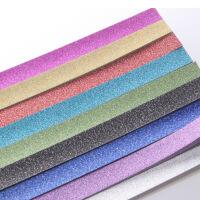 纯色闪钻金粉图案款星星折纸 diy儿童手工折纸材料星星条 幸运星纸许愿星条 7色14包共约240条 颜色均匀发货!