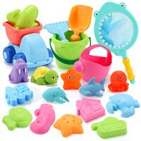 儿童沙滩玩具铲子套装大号婴儿洗澡玩具宝宝挖沙玩沙工具男孩女孩