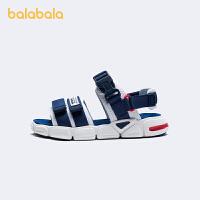 【1件6折价:130.7】巴拉巴拉童鞋儿童凉鞋男童中大童速干运动潮酷2021新款夏季沙滩鞋