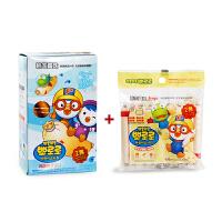 韩国宝噜噜婴儿宝宝鳕鱼肠 300g盒装DHA鳕鱼肠+90g袋装奶酪鳕鱼肠