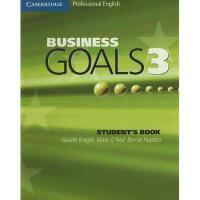 【预订】Business Goals 3 Student's Book