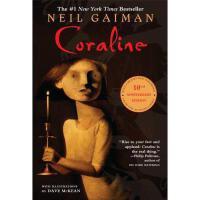 Coraline 英文原版 鬼妈妈十周年 纪念版