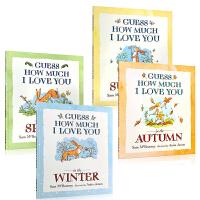 进口英文原版正版 Guess How Much I Love You in the Winter /Autumn/Su