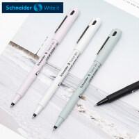 德国SCHNEIDER施耐德中性笔小清新学生0.5mm进口走珠笔学生考试水笔可爱小清新文具办公简约顺滑签字笔