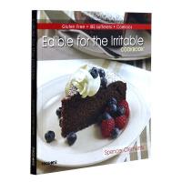 EDIBLE FOR IRRITABLE COOKBOOK简易烹饪 蛋糕披萨料理制作书籍