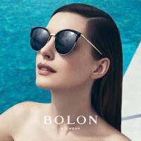 BOLON暴龙明星同款太阳镜时尚猫眼个性墨镜女时尚潮流眼镜BL6029