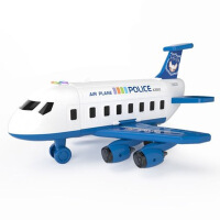 儿童玩具飞机滑行仿真音乐小客机模型男女孩宝宝玩具3-6周岁惯性