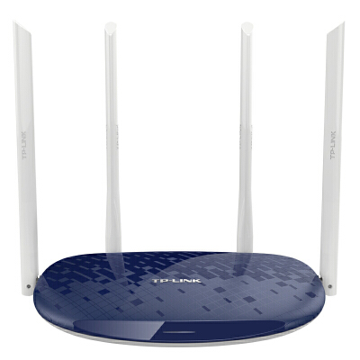 TP-LINK千兆无线路由器穿墙王1200M家用高速WiFi穿墙tplink双频5G电信光纤智能移动宽带WDR5610 水蓝/宝蓝色请备注 双频1200M 稳定不掉线
