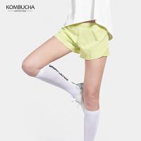 【新春特惠价】Kombucha运动健身短裤女士速干透气双层防走光运动休闲短裤K0692