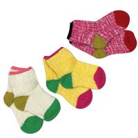 kk树秋冬童袜可爱加厚儿童棉袜男童女童保暖透气小孩袜子吸汗防臭
