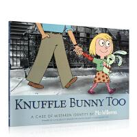 【全店300减100】英文原版书绘本 Knuffle Bunny Too 古纳什小兔 吴敏兰书单 4-6岁学习英语低幼启